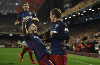 Atletico moste Valencia efter pausen