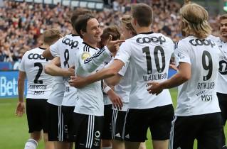 Tre danskerm�l gjorde Rosenborg til mestre