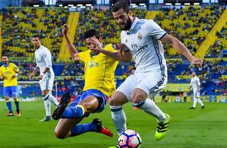 Las Palmas fik point mod Real Madrid