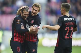 FC Midtjylland slog Horsens i m�lorgie