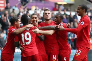 Liverpool kom tilbage og slog Swansea