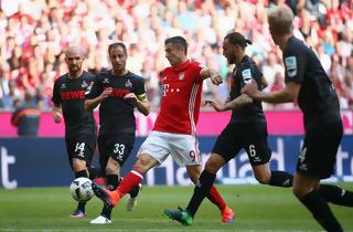 Frederik S. og FC K�ln tog point fra Bayern