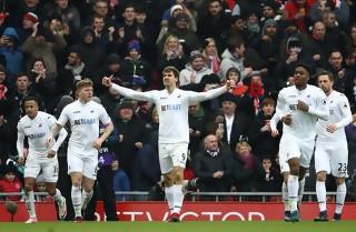 Swansea choksejrede på Anfield