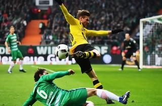 Dortmund forpurrede Delaneys Werder-debut