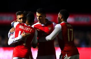 Arsenal pligtsejrede mod Sutton