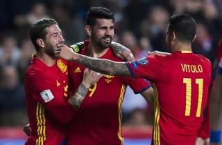 Spanien slog Israel i sikker stil