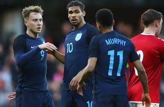 U21-landsholdet fik stryg af stærke England