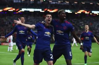 Pogba og Mkhitaryan sikrede United EL-triumf