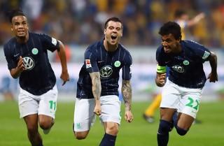 Wolfsburg reddede livet i Bundesligaen