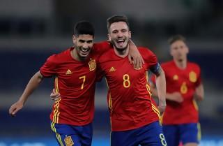 Saul-hattrick sendte Spanien i finalen