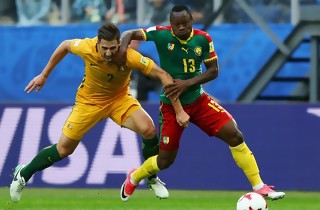 Cameroun og Australien i jævnbyrdig deler