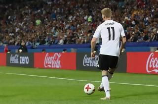Tyskland og Chile spillede sig i semifinalen