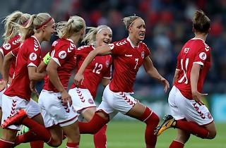 Dansk EM-succes: Kvartfinaleklar efter sejr