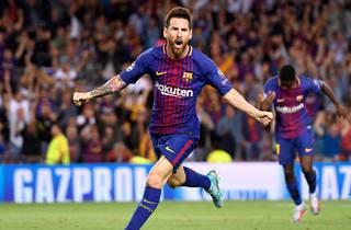 Ustyrlige Messi med fire mål i 6-1-sejr