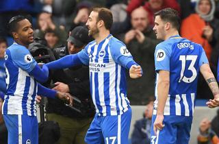 Skarpe Brighton ordnede sløve United
