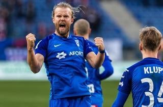 Skarpe Gytkjær blev dobbelt målscorer i sejr