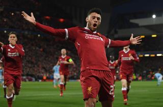 Oxlade-Chamberlain får lang Liverpool-aftale