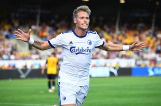 Fischer reddede FCK i overtiden mod AGF
