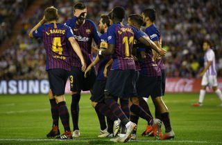 Barcelonas ti mand tog et point mod Girona