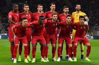 Portugal vandt gruppen foran uskarpe Italien