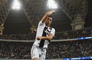 Ronaldo stangede Super Cup-titlen i hus