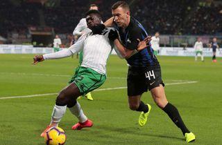 Målløse Inter skuffede hjemme mod Sassuolo
