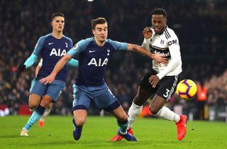 Spurs fik ram på Fulham til allersidst