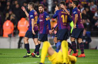Braithwaite lynede i nederlag på Camp Nou