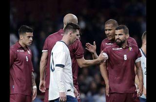Messi og Argentina ydmyget