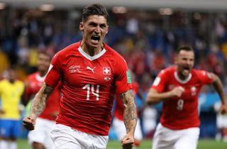 Schweiz hentede pligtsejr i Danmarks gruppe