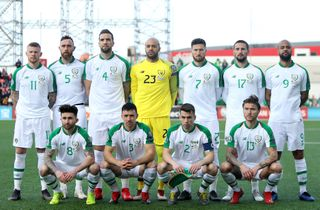 Irland kom sikkert fra land i DK-gruppe