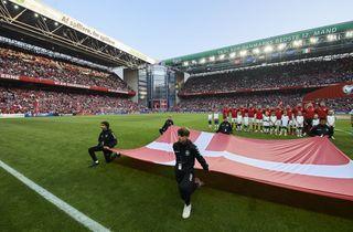 Danmark får tre EM-gruppekampe i Parken