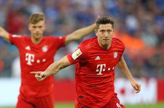 Lewandowski på fem sæsonmål i Bayern-sejr
