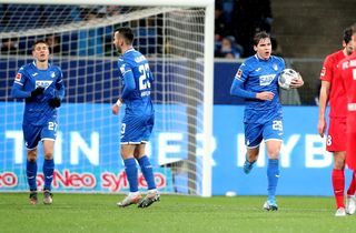 Skov scorede forgæves i Hoffenheim-nedtur
