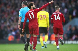 Salah blev helten for halvsløje Liverpool