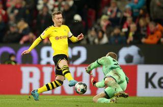 Dortmund-angribere i hopla sænkede Mainz