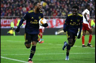 Kyniske Lacazette reddede Arsenals aften