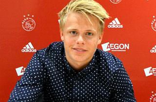 Unge Bay får tre år i Ajax