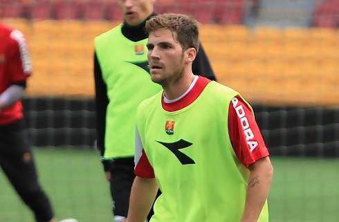 S�ren Christensen tr�ner med i FCN