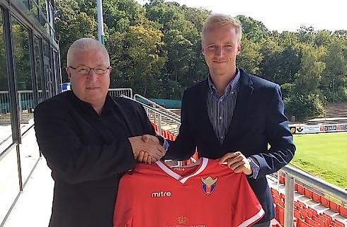 FC Vestsjælland kaprer Anders Kure