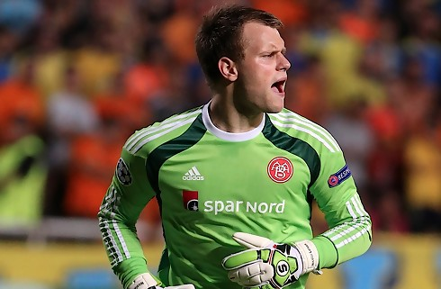 AaB-keeper: Ingen chance for at redde den