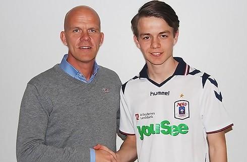 16-årig AGF-debutant: Helt fantastisk