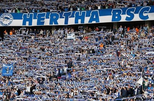 Hertha og Wolfsburg delte i vanvittig afslutning