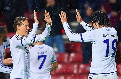 Santander og Verbic s�nkede Rosenborg