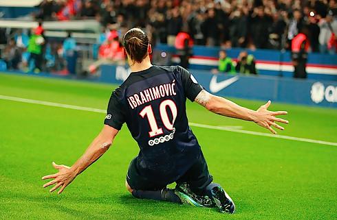 Zlatan sikrede sejren mod Saint-Etienne