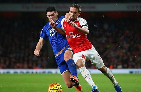 Arsenal-back sigter efter otte sejre