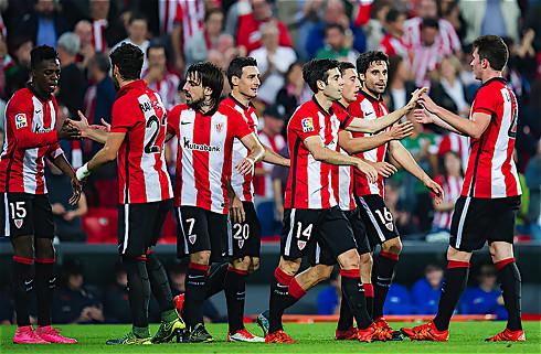 Bilbao slog Valencia i regnen