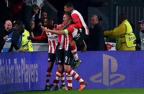 PSV tog mesterskabet mod Ajax