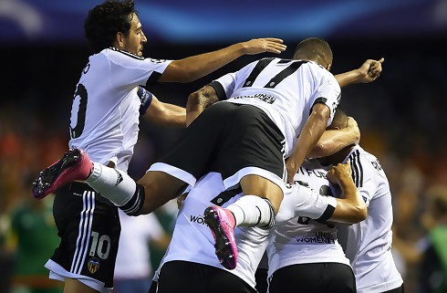 Højintens deler mellem Valencia og Real Madrid