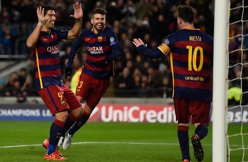 Sprudlende Barca t�skede Valencia